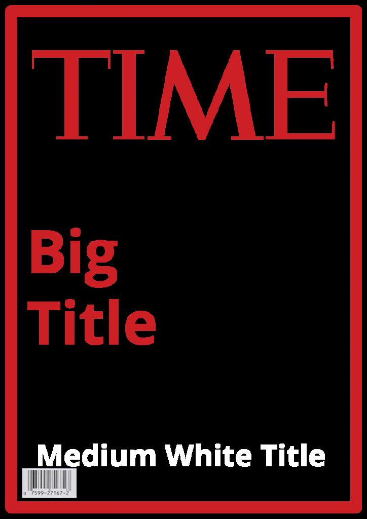 Time Magazine Cover by Steve Katz