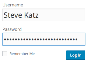 Password Steve Katz